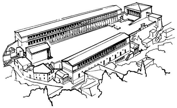 Здесь строили храмы наиболее